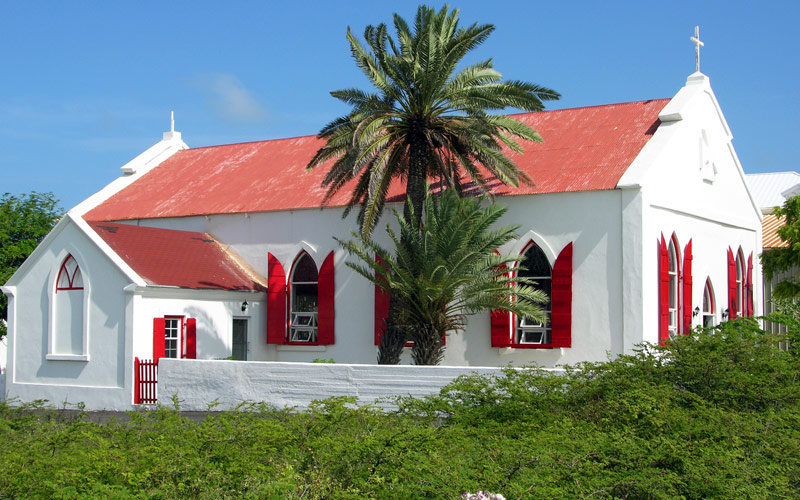 First Cathedral Turks & Caicos Silversea Caribbean