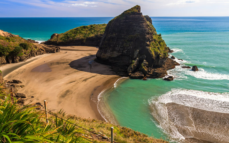 Piha Beach Auckland New Zealand Silversea Cruises