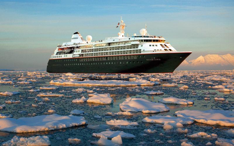 Silversea Cruises Silver Cloud Expedition Exterior