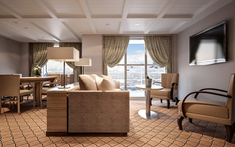 Silver Cloud Expedition Owners Suite