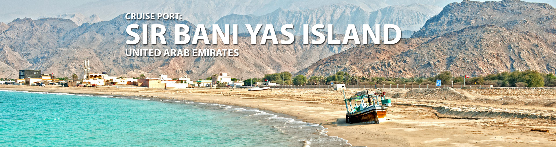 Cruises to Sir Bani Yas Island, UAE
