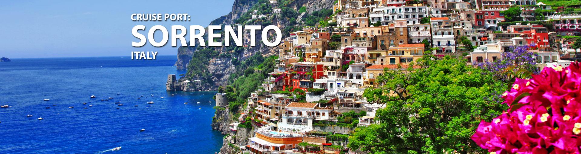 Cruises to Sorrento, Italy