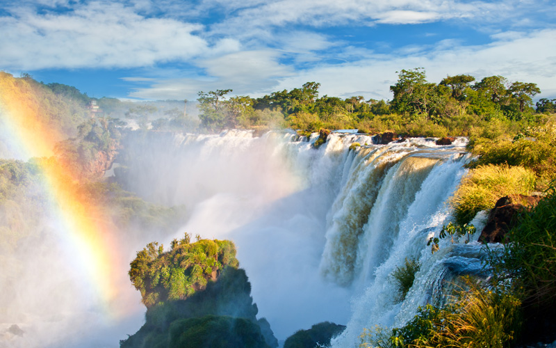 Iguazu Falls, one of the new seven natural wonders