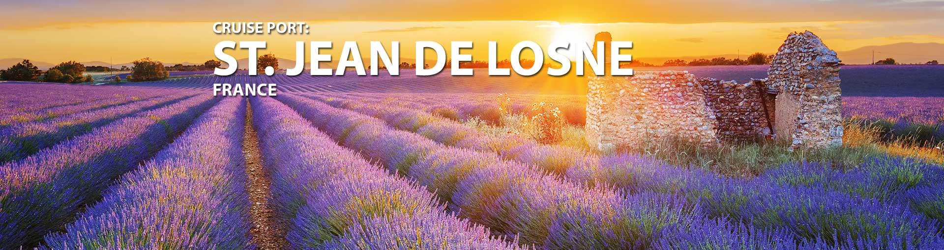 St. Jean De Losne, France Cruise Port