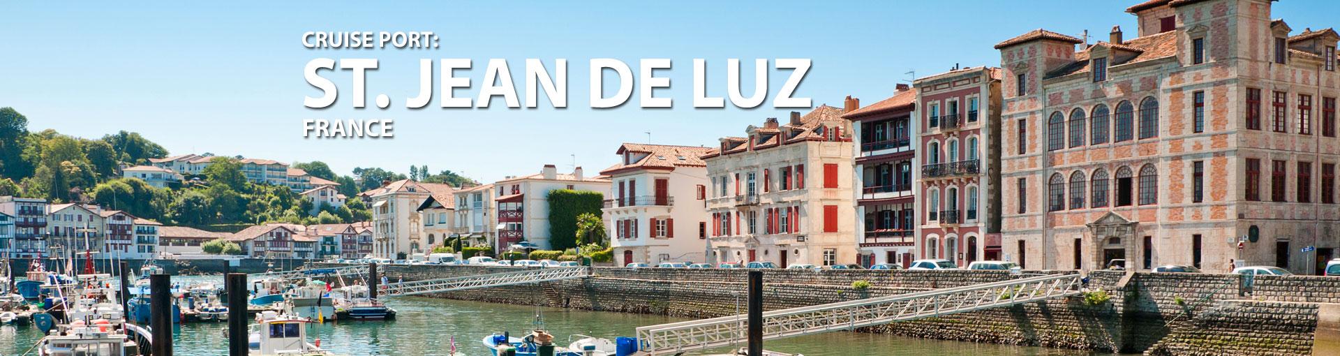 Cruises to St. Jean De Luz, France