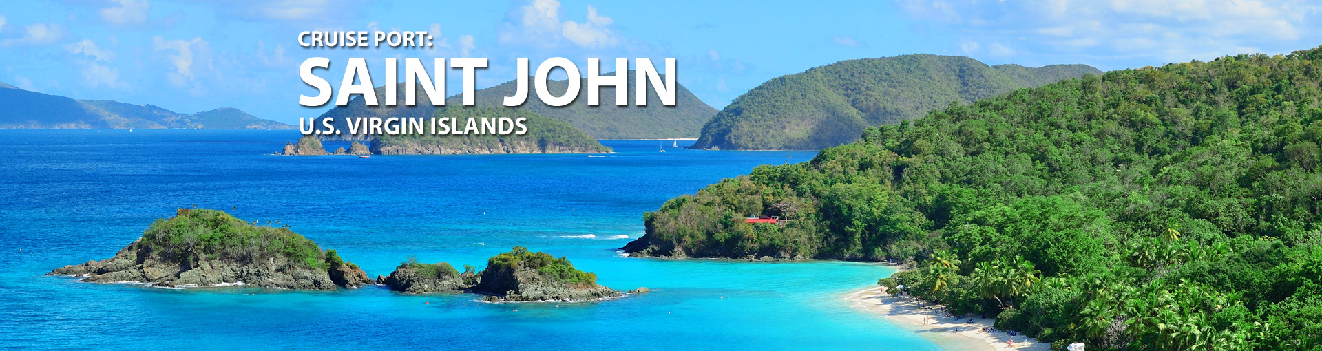 Cruises to St. John, U.S. Virgin Islands