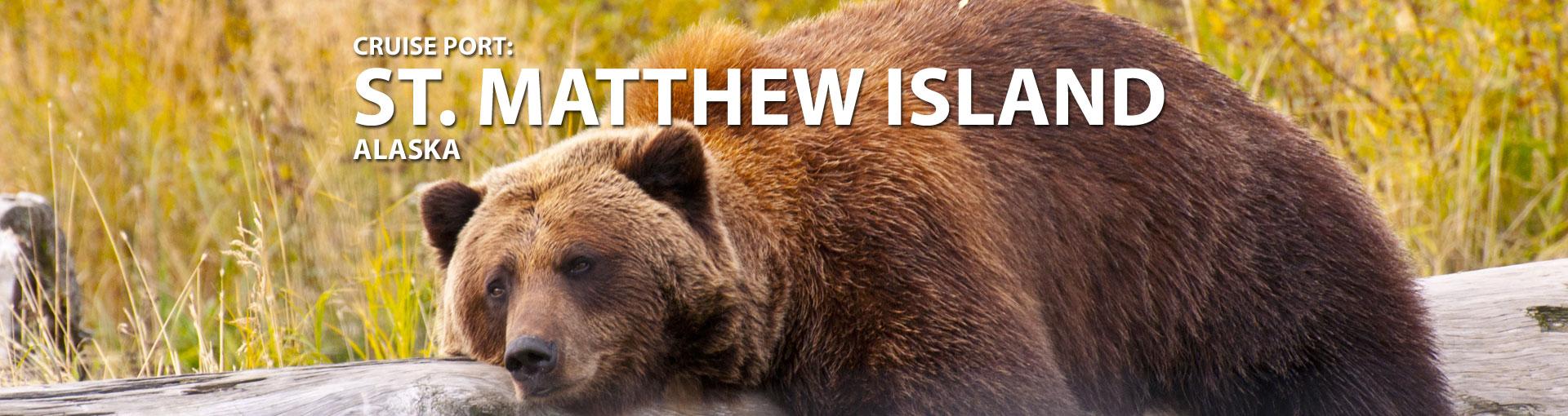 Cruises to St. Matthew Island, Alaska