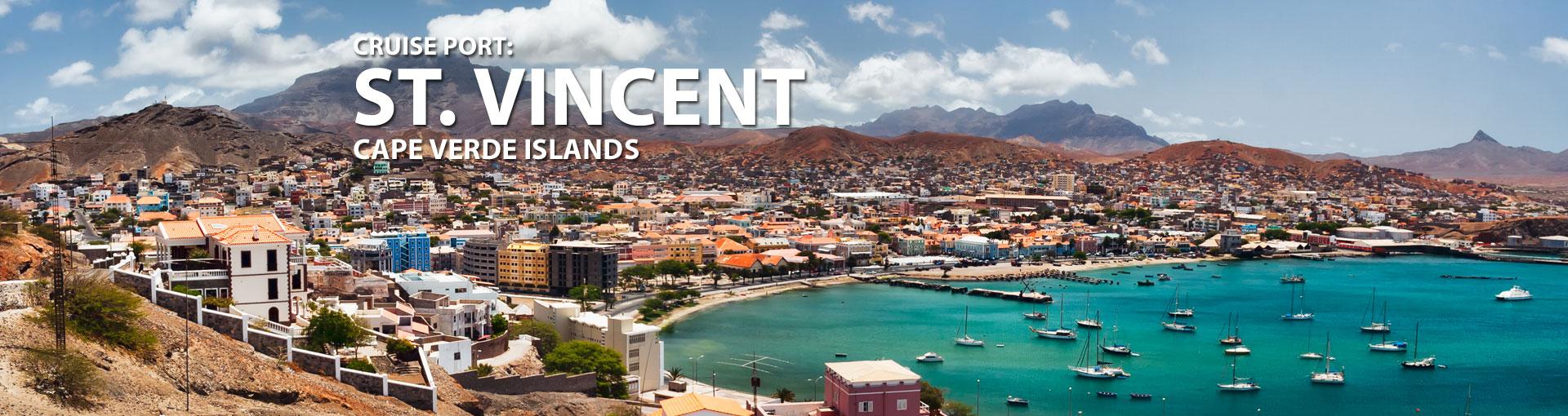 Cruises to St. Vincent, Cape Verde Islands