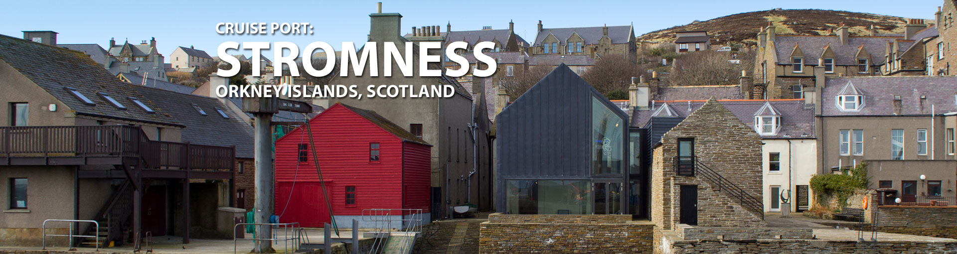 Cruises to Stromness, Orkney Islands