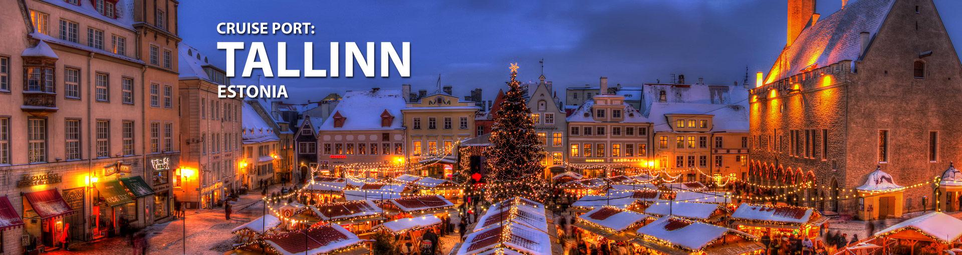 Cruises to Tallinn, Estonia