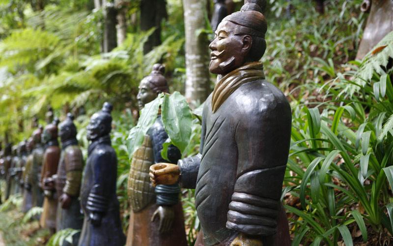 Terracotta Warriors in Xian China