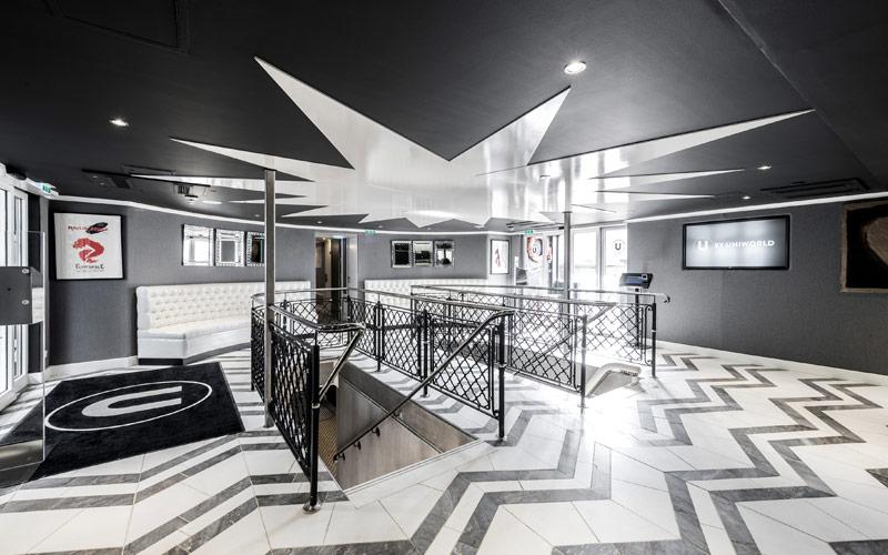Lobby of The A