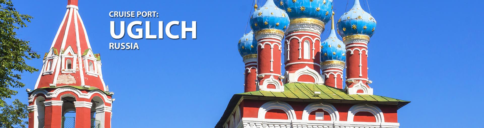 Cruises for Uglich, Russia