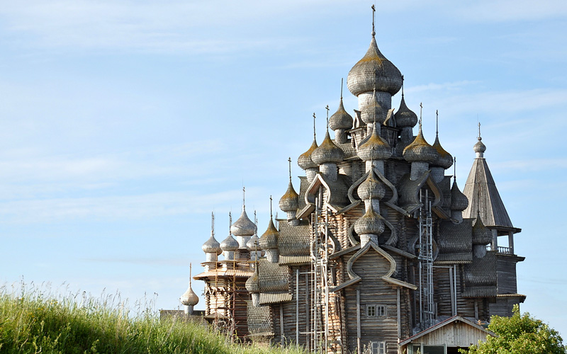 Church of Transfiguration Kizhi Russia Uniworld
