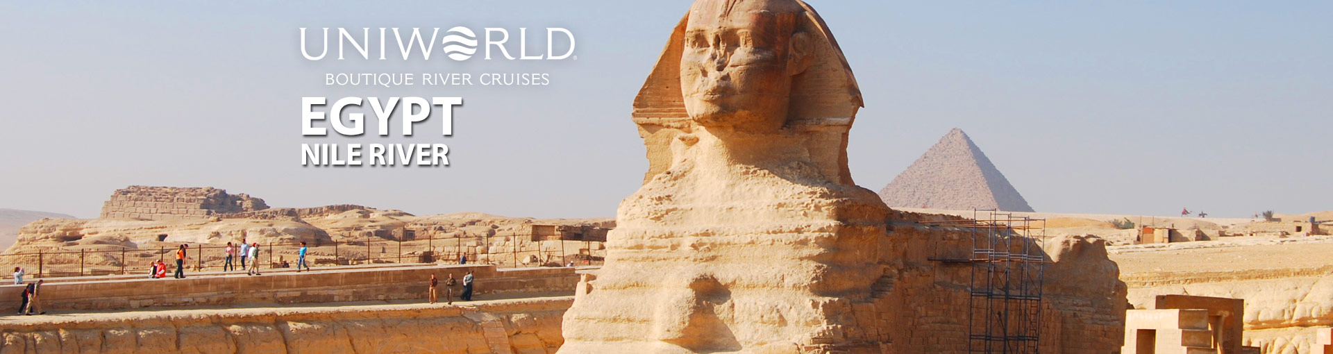 Uniworld River Cruises along Egypt's Nile River