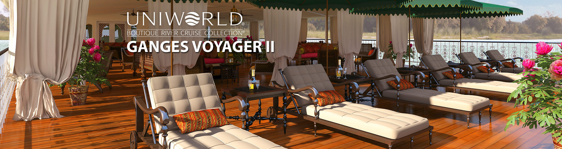 Uniworld River Cruises Ganges Voyager II ship