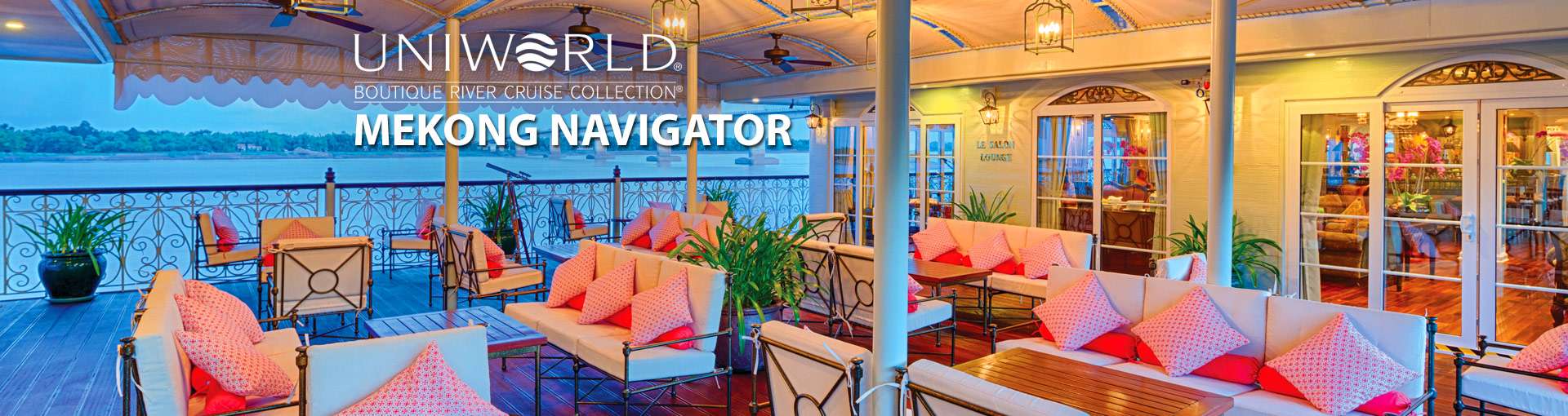 Uniworld River Cruises Mekong Navigator River Ship