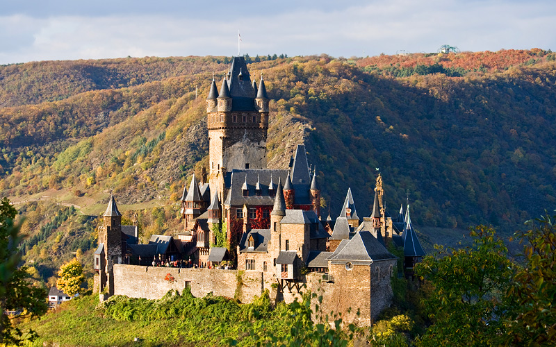 Reichsburg Castle, Cochem, Germany Uniworld Europe