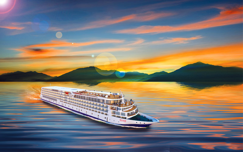 Uniworld River Cruises Century Legend exterior ren