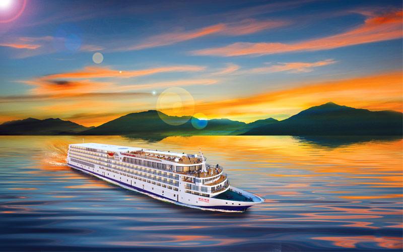 Uniworld River Cruises Century Legend exterior ren
