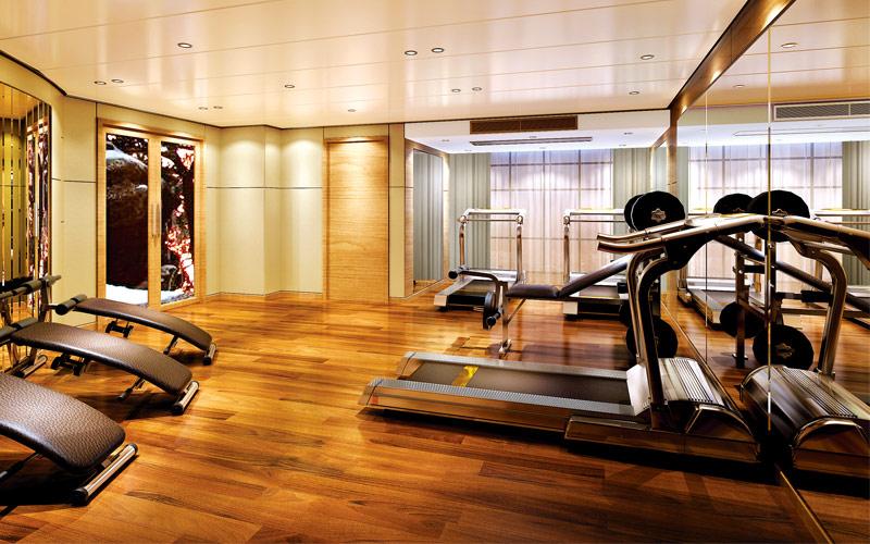 Uniworld River Cruises Century Legend fitness cent