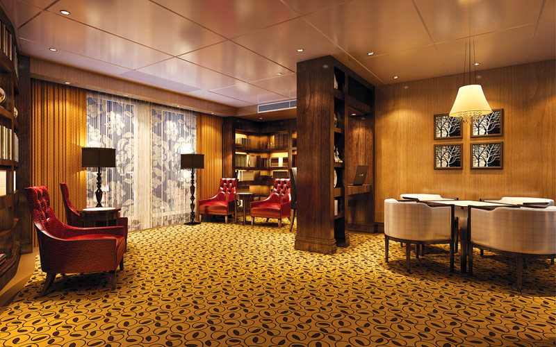 Uniworld River Cruises Century Legend library