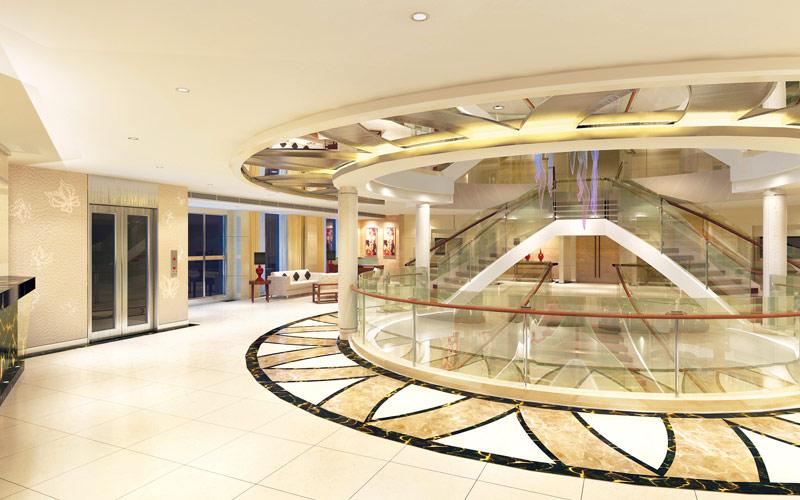 Uniworld River Cruises Century Paragon Atrium