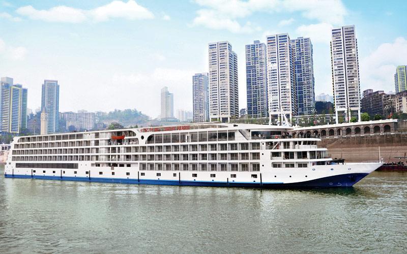 Uniworld River Cruises Century Paragon exterior