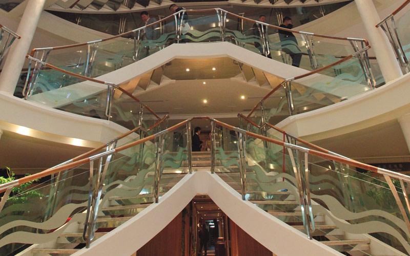 Uniworld River Cruises Century Paragon lobby