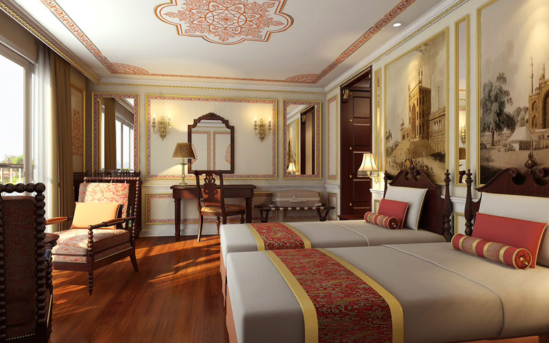 Colonial Suite on the Ganges Voyager II
