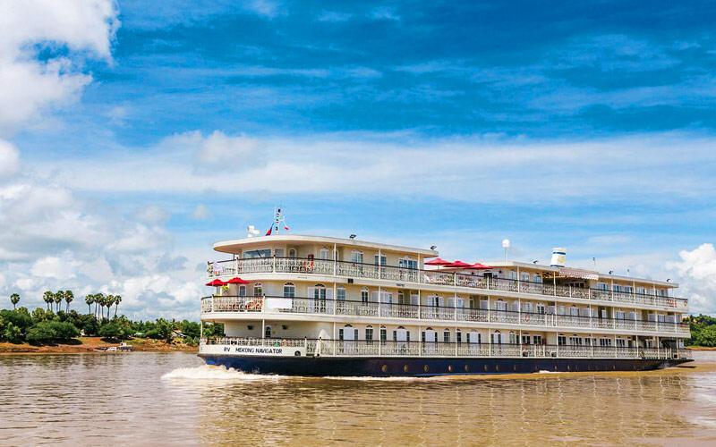 Mekong Navigator ship exterior