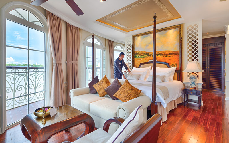 Grand Suite on the Mekong Navigator