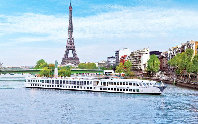 Uniworld River Cruises River Ambassador exterior
