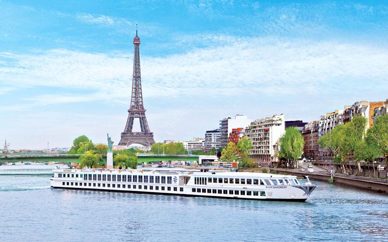 Uniworld River Cruises River Baroness exterior