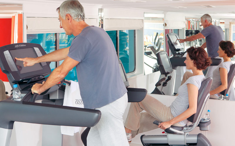 Uniworld River Cruises River Baroness fitness cent