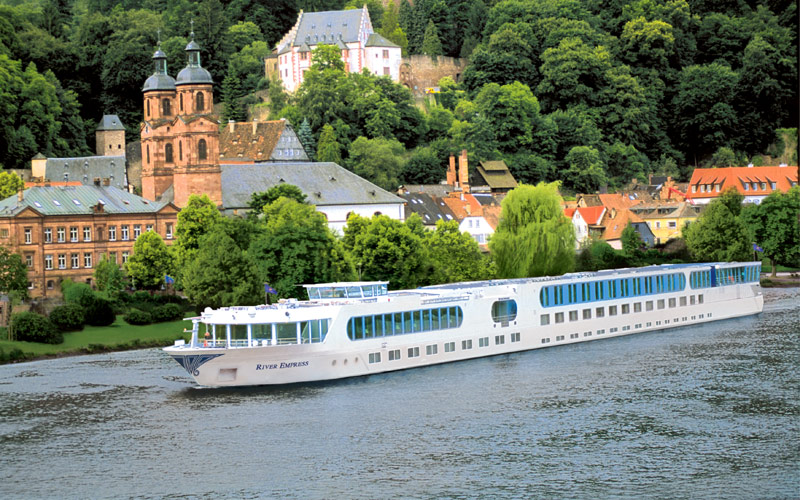 Uniworld River Cruises River Empress exterior