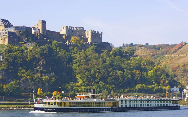 Uniworld River Cruises River Queen exterior