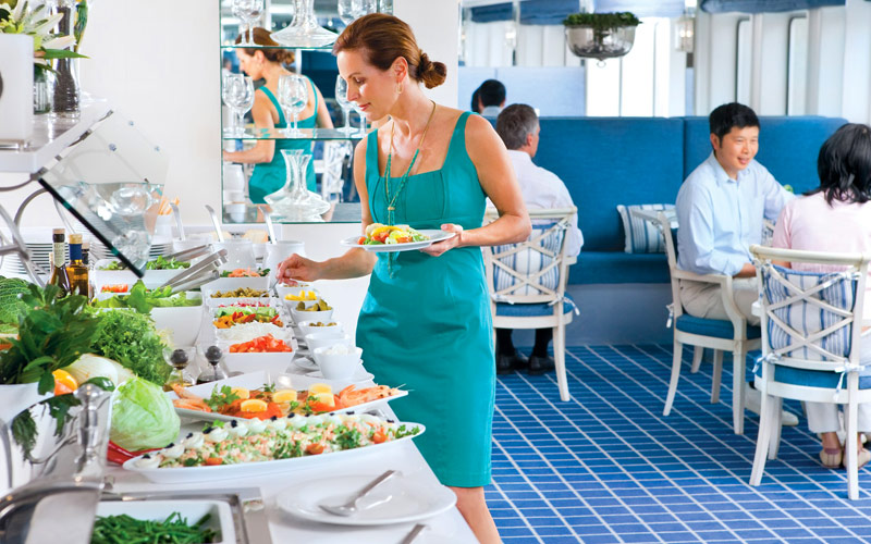 Uniworld River Cruises River Royale Buffet