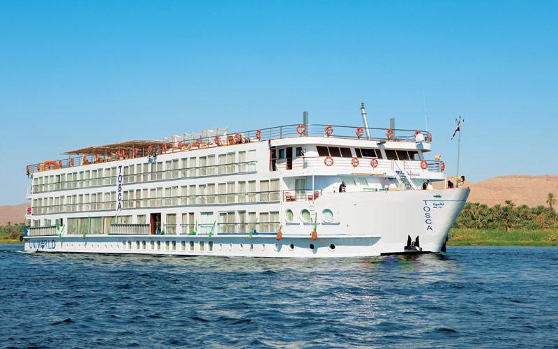 River Tosca ship exterior