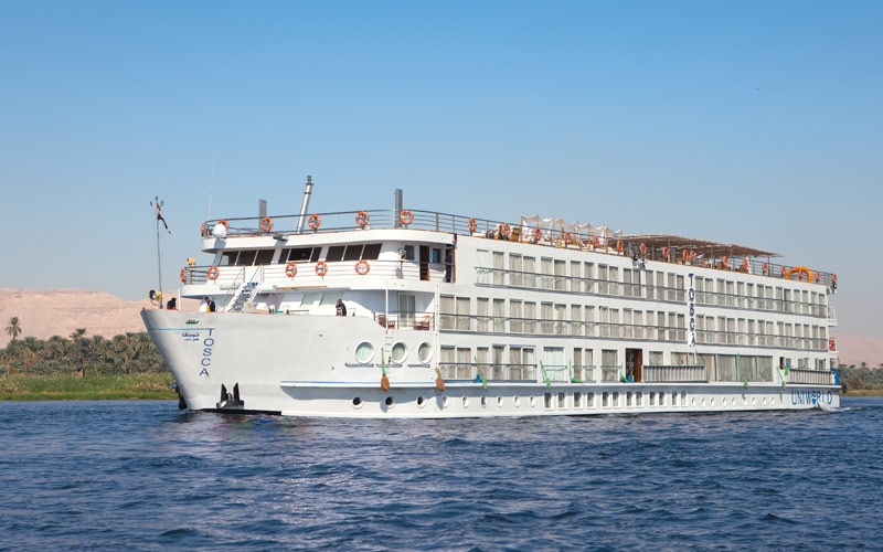 Uniworld River Cruises River Tosca exterior
