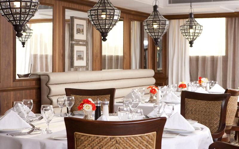 Uniworld River Cruises River Tosca restaurant