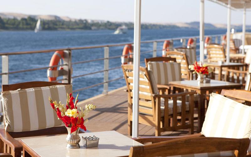 Uniworld River Cruises River Tosca sun deck
