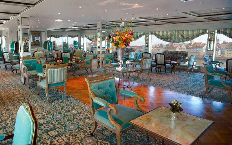 Uniworld River Cruises S.S. Antoniette Salon Du Gr
