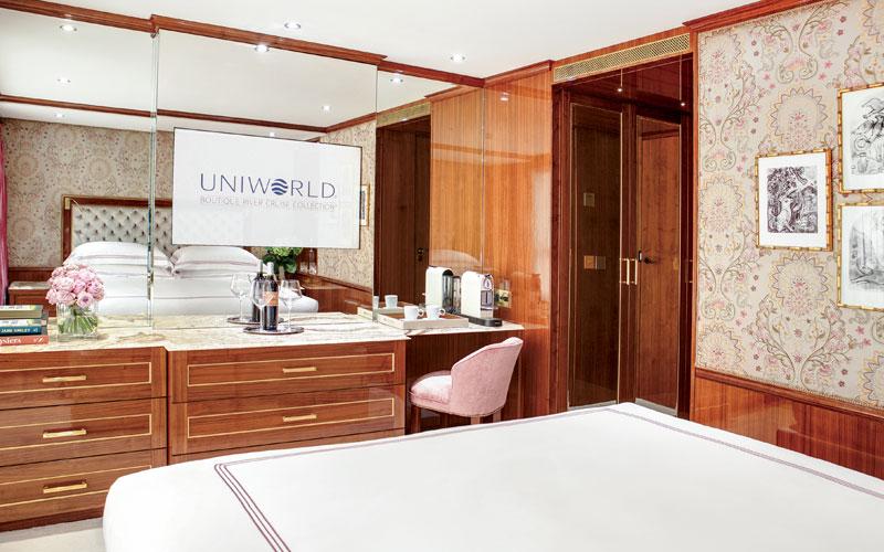 Uniworld S.S. Joie de Vivre Stateroom