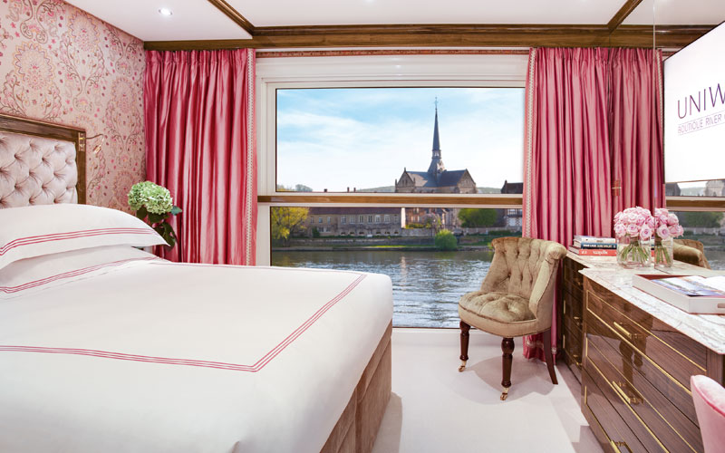 A view from your room on S.S. Joie de Vivre