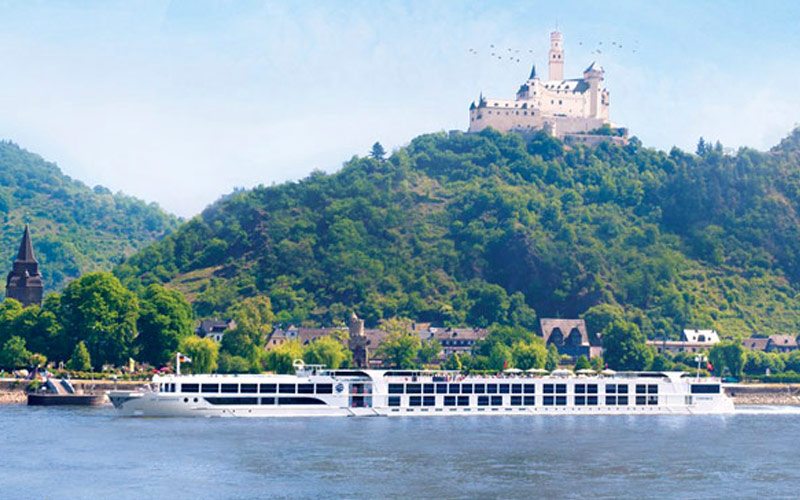 Uniworld River Cruises S.S. Mary Theresa exterior