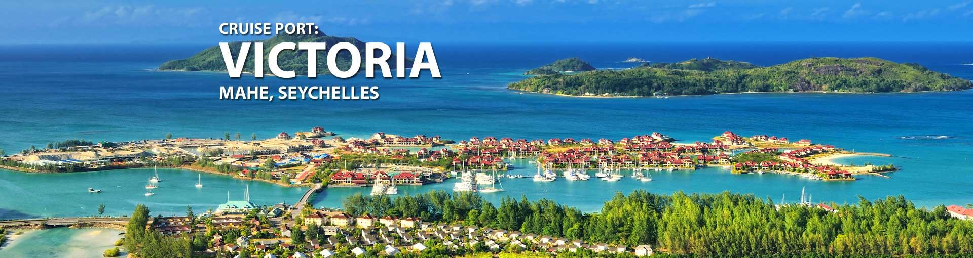 Cruises to Victoria, Mahe, Seychelles