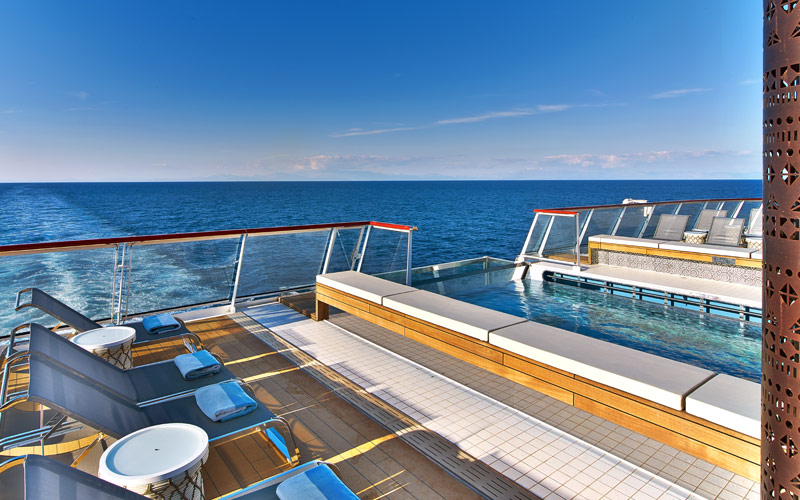 Infinity Pool aboard Viking Spirit