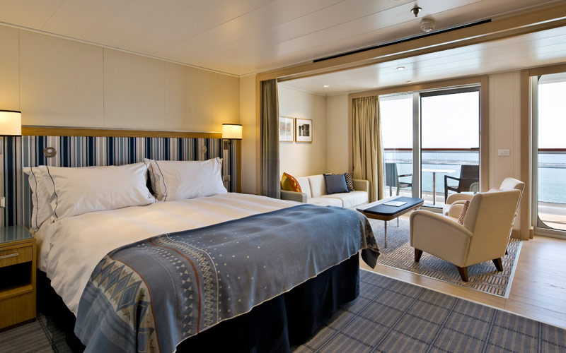Suite aboard Viking Spirit