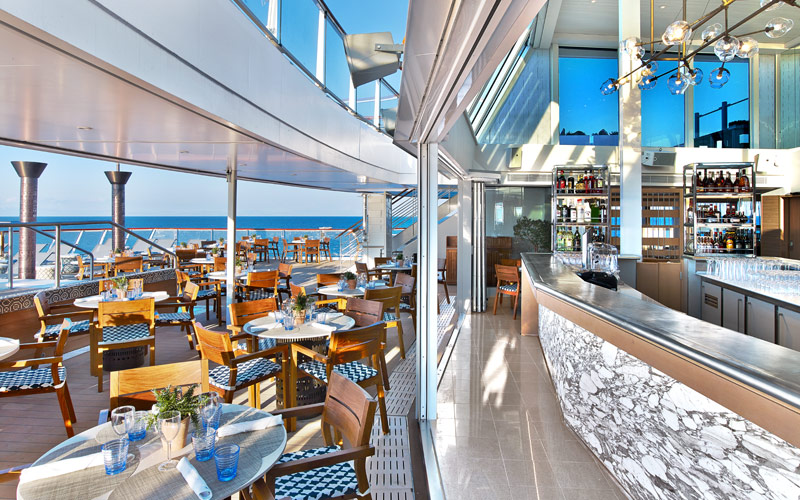 Aquavit Terrace aboard Viking Sun